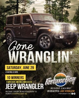 Gone Wranglin'