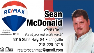 For All Your Real Estate Needs!