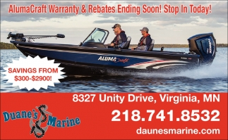 AlumaCraft Warranty & Rebates Ending Soon
