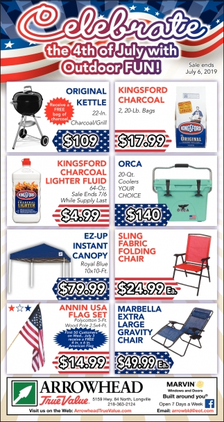 Celebrate The 4th Of July With Outdoor Fun!