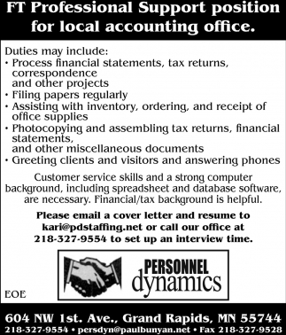 Local Accounting Office