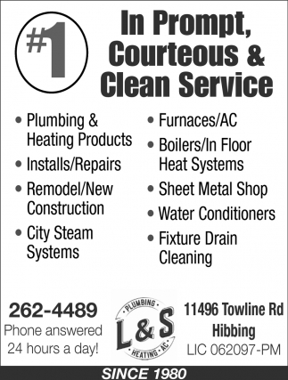#1 In Prompt, Courteous And Clean Service
