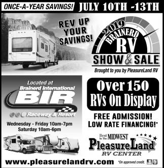 2019 Brainerd RV Show & Sale