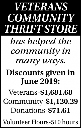 Discounts Given In June 2019