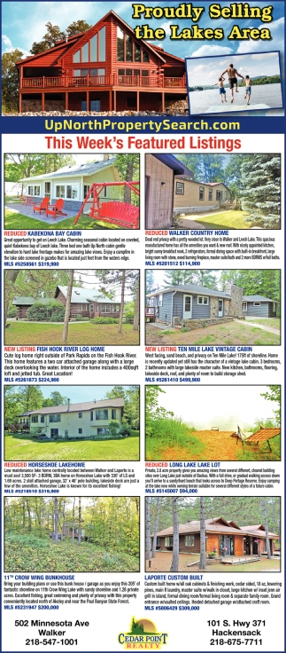 This Week's Featured Listings