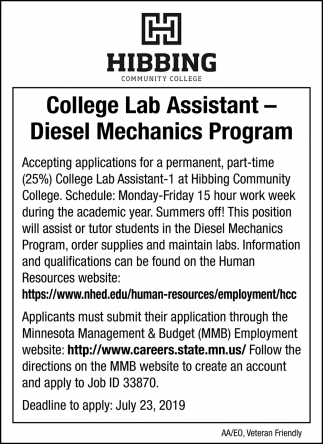 Diesel Mechanics Program