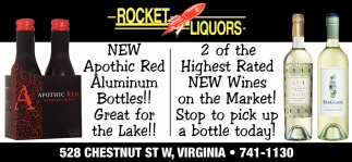 2 Of The Highest Rated New Wines