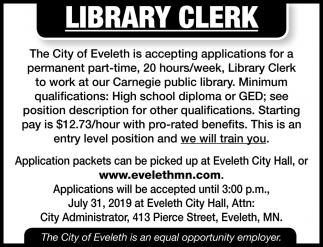 Library Clerk