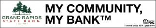 My Community, My Bank.