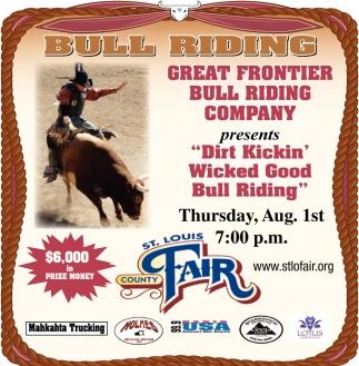 Bull Riding, St  Louis County Fair