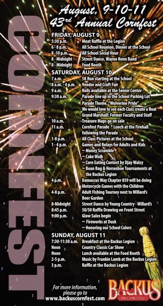 43th Annual Cornfest