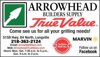Come See Us For All Your Grilling Needs!