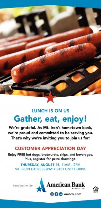 Gather, Eat, Enjoy!