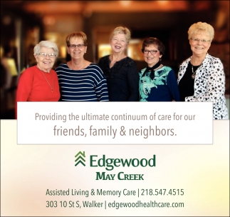 Providing The Ultimate Continuum Of Care For Our Friends, Family & Neighbors