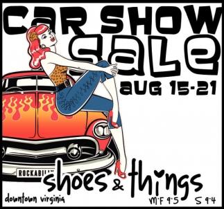 Car Show Sale