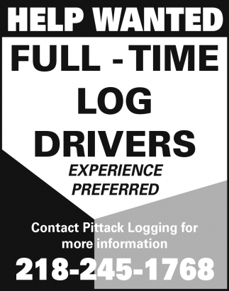 Full Time Log Drivers
