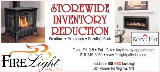 Storewide Inventory Reduction