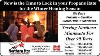Now Is The Time To Lock In Your Propane Rate