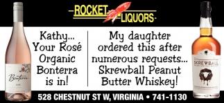 Kathy... Your Rose Organic Bonterra Is In!