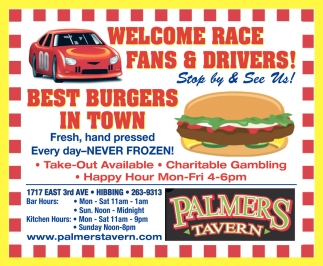 Welcome Race Fans & Drivers!