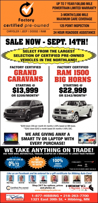 Factory Certified Pre-Owned