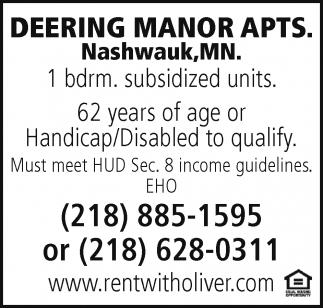 Deering Manor Apts.