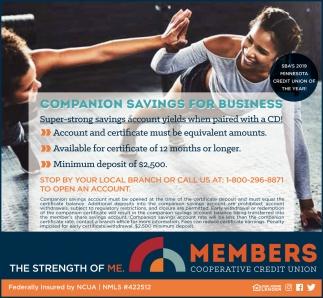 Companion Savings For Business