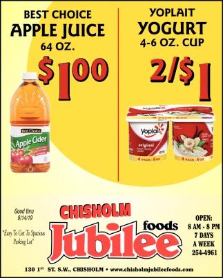 Best Choice Apple Juice