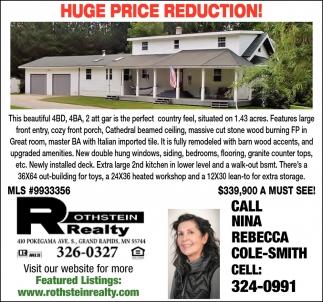 Huge Price Reduction!