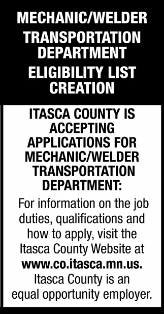 Mechanic/Welder