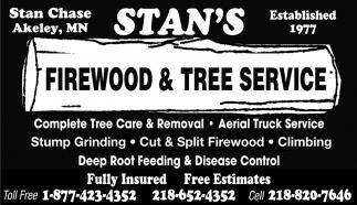 Firewood & Tree Service