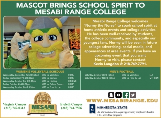 Mascot Brings School Spirit