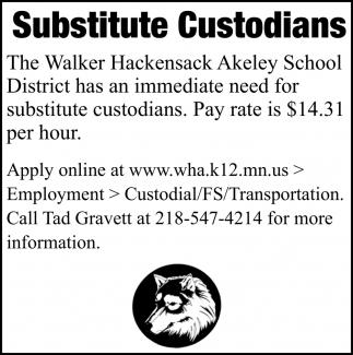 Substitute Custodians