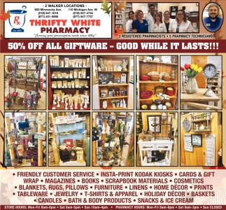 50% Off All Giftware