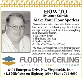 Make Your Floor Spotless