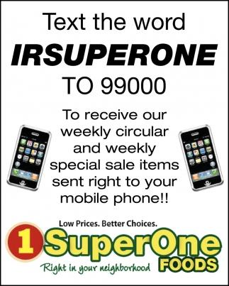 Text The Word Irsuperone