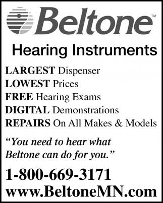 Hearing Instruments