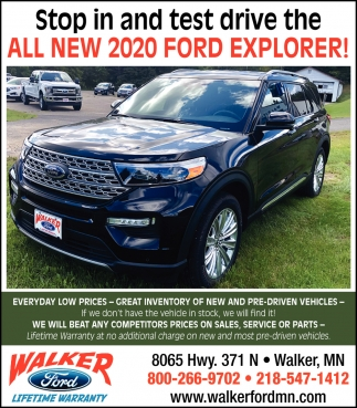 All New 2020 Ford Explorer!