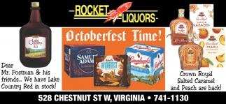 Octoberfest Time!