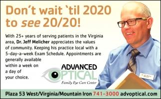 Don't Wait 'Til 2020