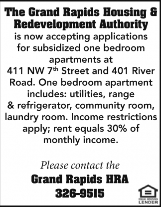 The Grand Rapids Housing And Redevelopment Authority