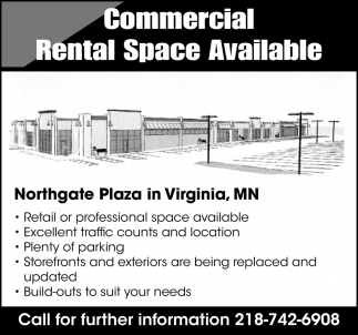 Commercial Rental Space Available