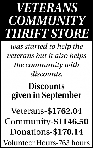 Discounts Given In September
