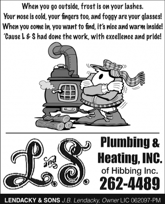 L And S Plumbing And Heating