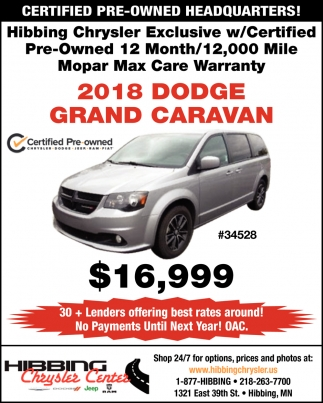 Certified Pre-Owned Headquarters!