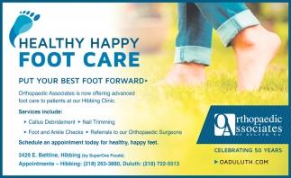 Healthy Happy Foot Care