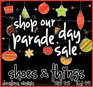 Shop Our Parade Day Sale