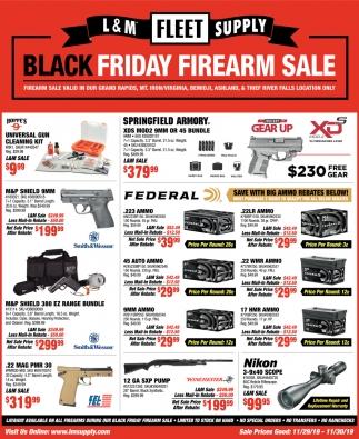 Black Friday Firearm Sale