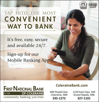 Tap Into The Most Convenient Way To Bank