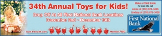 34th Annual Toys For Kids!